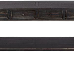 Ashley Furniture Signature Design Gavelston Sofa Table Rectangular Black 0 0 300x230