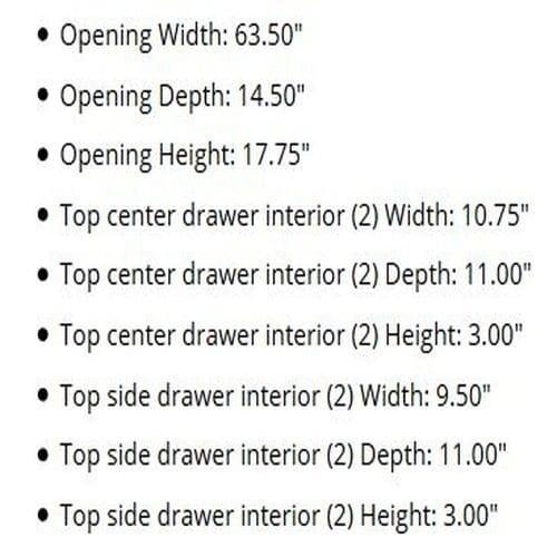 Ashley Furniture Signature Design Gavelston Sofa Table Rectangular Black 0 2