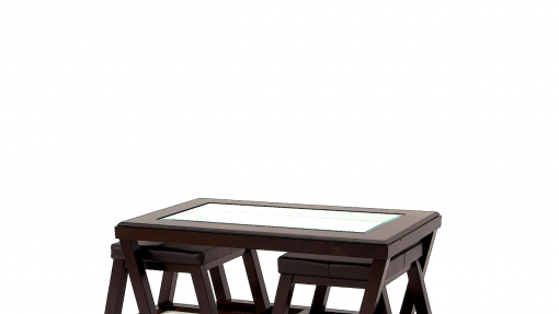 Ashley Furniture Signature Design Kelton Coffee Table With 2 Stools Cocktail Height 3 Piece Set Espresso Brown With Glass Top 0 510x287