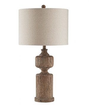 Ashley Furniture Signature Design Madelief Poly Table Lamp Faux Wood Brown 0 300x360