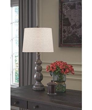 Ashley Furniture Signature Design Mair Poly Table Lamps Set Of 2 Timeworn Finish Antique Black 0 0 300x360