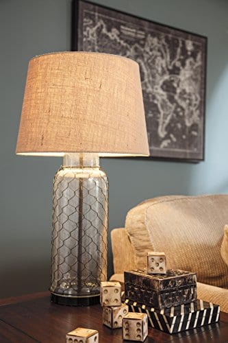 Ashley Furniture Signature Design Sharmayne Farmhouse Table Lamp L430114 Clear 0 0
