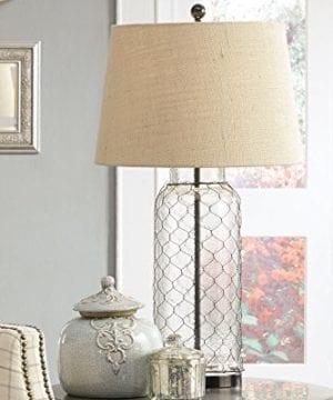 Ashley Furniture Signature Design Sharmayne Farmhouse Table Lamp L430114 Clear 0 1 300x360