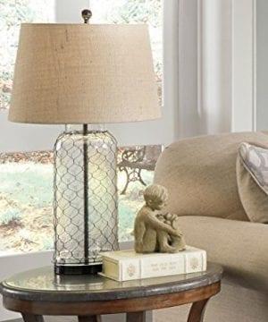 Ashley Furniture Signature Design Sharmayne Farmhouse Table Lamp L430114 Clear 0 3 300x360