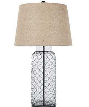 Ashley Furniture Signature Design Sharmayne Farmhouse Table Lamp L430114 Clear 0 300x360
