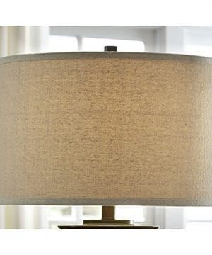 Ashley Furniture Signature Design Tailynn Farmhouse Glass Table Lamp Clear And Bronze Finish 0 4 300x360