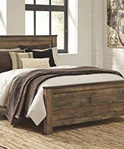 Admirable Ashley Furniture Signature Design Trinell Queen Panel Headboard Component Piece Brown Home Interior And Landscaping Ferensignezvosmurscom