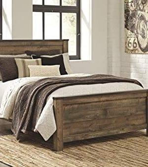 Ashley Furniture Signature Design Trinell Queen Panel Headboard Component Piece Brown 0 1 300x338