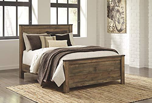 Ashley Furniture Signature Design Trinell Queen Panel Headboard Component Piece Brown 0 1