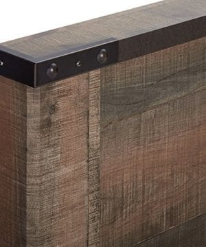 Ashley Furniture Signature Design Trinell Queen Panel Headboard Component Piece Brown 0 3 300x360