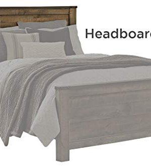 Ashley Furniture Signature Design Trinell Queen Panel Headboard Component Piece Brown 0 300x333