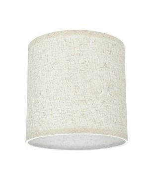 Aspen Creative 31051 Transitional Hardback Drum Cylinder Shape Spider Construction Lamp Shade In Flaxen 8 Wide 8 X 8 X 8 0 0 300x360
