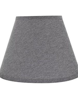 Aspen-Creative-32181-Transitional-Hardback-Empire-Shape-Spider-Construction-Lamp-Shade-in-Grey-13-wide-7-x-13-x-9-12-0