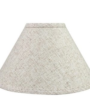 Aspen Creative 58703 Transitional Hardback Empire Shape UNO Construction Lamp Shade In Beige 11 Wide 4 X 11 X 7 0 300x360