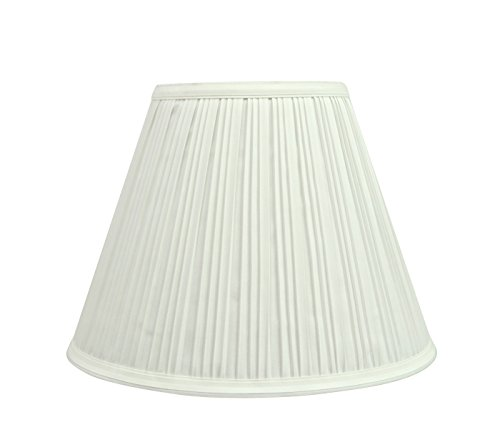 Aspen Creative 59101 Transitional Pleated Empire Shape UNO Construction Lamp Shade In Off White 10 Wide 5 X 10 X 8 0