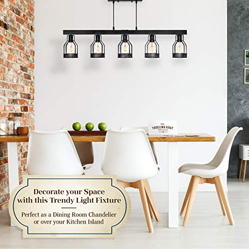 Black Farmhouse Chandelier Pendant Lighting For Kitchen Island Dining Room Lighting Fixtures Hanging Pool Table Farmhouse Goals