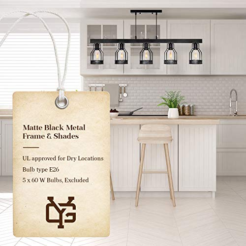 Wellmet 3 Lights Modern Pendant Lighting For Kitchen Island Black Chandeliers Height Adjustable For Pool Table Farmhouse Chandelier Dining Room Lighting Fixtures Hanging With Matte Black Finish Lamps Light Fixtures Tools