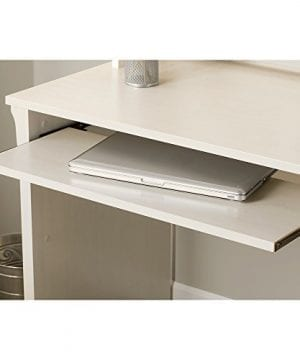Bush Furniture Salinas Mission Desk With Hutch Lateral File Cabinet And 5 Shelf Bookcase In Antique White 0 2 300x360