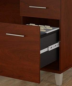 Bush Furniture Somerset 71W L Shaped Desk With Hutch In Hansen Cherry 0 3 300x360