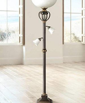 Calistoga Light Blaster Torchiere Floor Lamp Franklin Iron Works 0 300x360