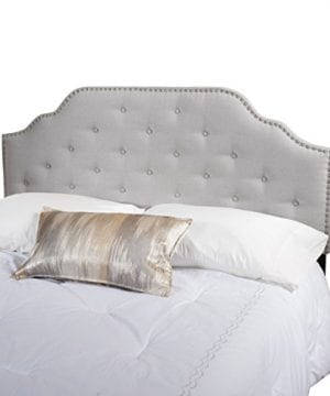 Christopher Knight Home 298920 Soleil QueenFull Headboard Gray 0 0 300x360