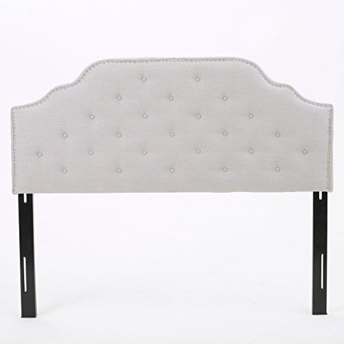 Christopher Knight Home 298920 Soleil QueenFull Headboard Gray 0 1