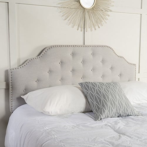 Christopher Knight Home 298920 Soleil QueenFull Headboard Gray 0