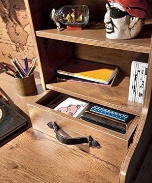 Cilek 2013110110 Pirate Desk With Hutch Brown 0 1 300x360
