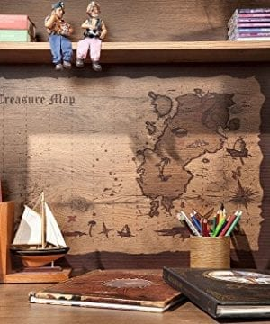 Cilek 2013110110 Pirate Desk With Hutch Brown 0 3 300x360
