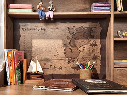 Cilek 2013110110 Pirate Desk With Hutch Brown 0 3