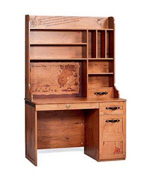 Cilek 2013110110 Pirate Desk With Hutch Brown 0 300x360