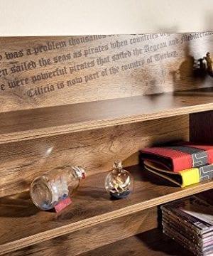 Cilek 2013110110 Pirate Desk With Hutch Brown 0 4 300x360