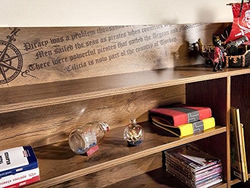 Cilek 2013110110 Pirate Desk With Hutch Brown 0 4