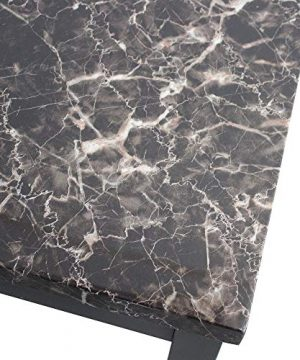 Civil Furniture 3 Piece Modern Faux Marble Coffee And End Table Set Living Room Furniture 0 1 300x360