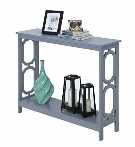 Convenience Concepts Omega Console Table Gray 0 0