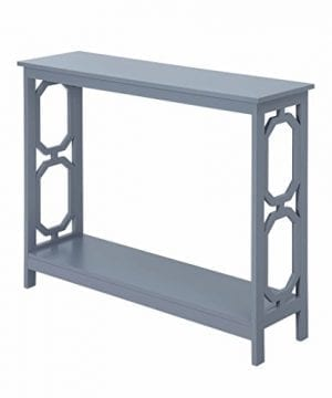 Convenience Concepts Omega Console Table Gray 0 1 300x360