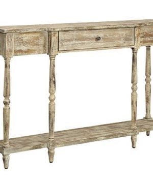 Convenience Concepts Wyoming Weathered Antique Console Table 0 300x360