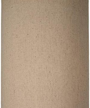 Cotton Blend Tan Cylinder Shade 8x8x11 Spider Brentwood 0 0 300x360