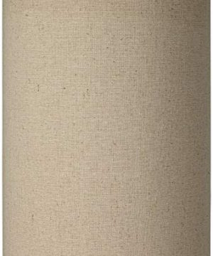 Cotton Blend Tan Cylinder Shade 8x8x11 Spider Brentwood 0 300x360