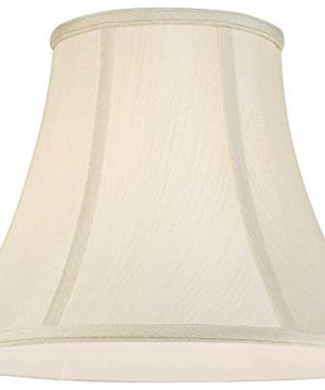 Creme Bell Lamp Shade Traditional Fabric Harp Included 7x14x11 Spider Imperial Shade 0 2 300x360