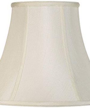 Creme Bell Lamp Shade Traditional Fabric Harp Included 7x14x11 Spider Imperial Shade 0 300x360