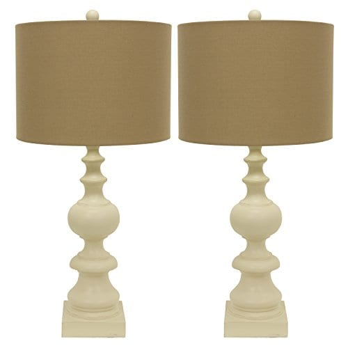 Dcor Therapy MP1057 Table Lamp Distressed Cream 0 0