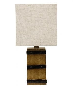 Dcor Therapy TL15456 Table Lamp Borden Brown 0 300x360