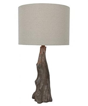 Decor Therapy TL17310 Table Lamp Driftwood Brown Gray 0 2 300x360
