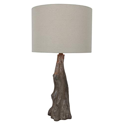 Decor Therapy TL17310 Table Lamp Driftwood Brown Gray 0 2