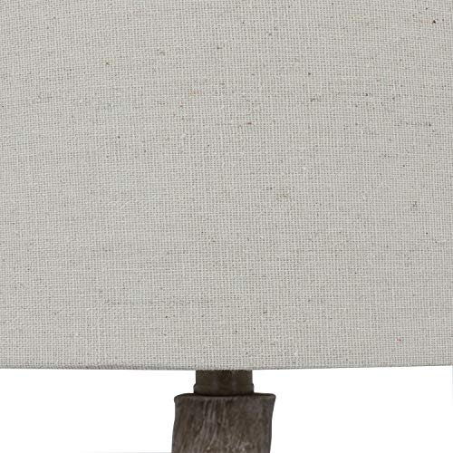 Decor Therapy TL17310 Table Lamp Driftwood Brown Gray 0 3