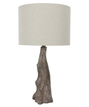 Decor Therapy TL17310 Table Lamp Driftwood Brown Gray 0 300x360