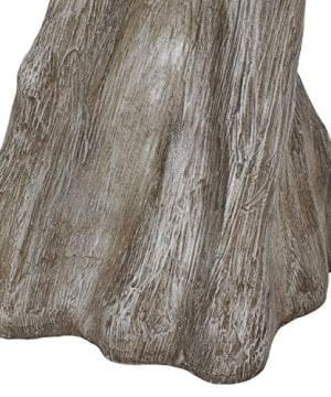 Decor Therapy TL17310 Table Lamp Driftwood Brown Gray 0 4 300x360
