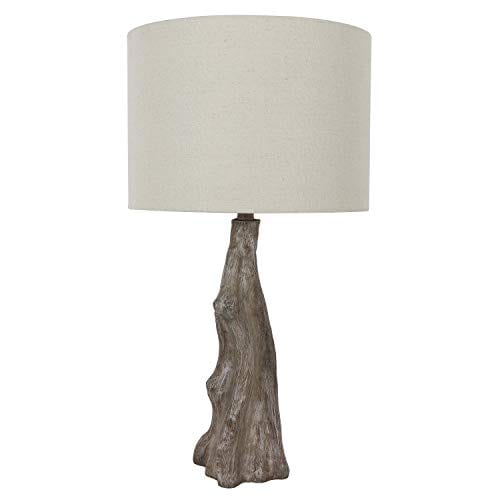 Decor Therapy TL17310 Table Lamp Driftwood Brown Gray 0