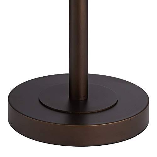 Derek Industrial Table Lamp Bronze Metal Mesh Drum Shade For Living Room Family Bedroom Bedside Nightstand Office Franklin Iron Works 0 3